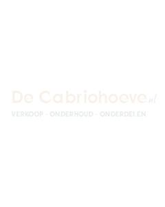 Softtop - stof met glazen raam (Blauw)