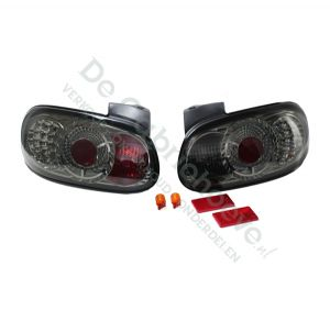 Set Achterlichten zwart met LED verlichting