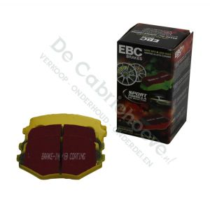 EBC Remblokken Yellowstuff voorzijde 1.6l - 90 pk ABS / 1.8l NA 131 pk / 1.6l NB 110 pk /1.8l NB 140pk