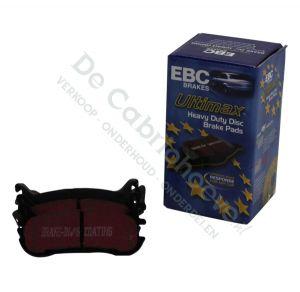 EBC Remblokken Ultimax achterzijde 1.6l NA 116 pk en (90 pk zonder ABS)